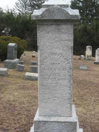 FELVER, BENJAMIN - Warren County, New Jersey | BENJAMIN FELVER - New Jersey Gravestone Photos