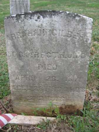 GILBERT, ABRAHAM - Warren County, New Jersey | ABRAHAM GILBERT - New Jersey Gravestone Photos