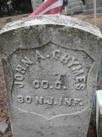 GRYMES (GRIMES), JOHN A. - Warren County, New Jersey | JOHN A. GRYMES (GRIMES) - New Jersey Gravestone Photos