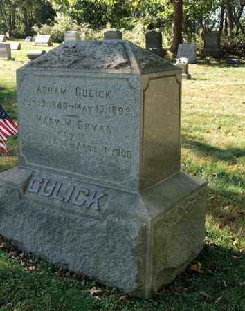 GULICK, ABRAM - Warren County, New Jersey | ABRAM GULICK - New Jersey Gravestone Photos