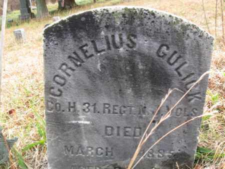 GULICK, CORNELIUS - Warren County, New Jersey | CORNELIUS GULICK - New Jersey Gravestone Photos