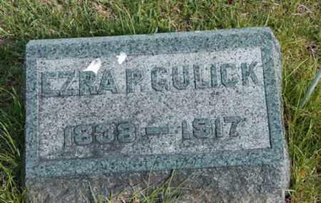 GULICK, EZRA P. - Warren County, New Jersey | EZRA P. GULICK - New Jersey Gravestone Photos