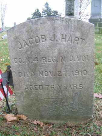 HART, JACOB J. - Warren County, New Jersey | JACOB J. HART - New Jersey Gravestone Photos