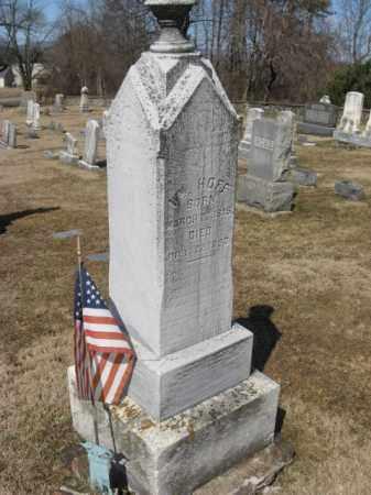 HOFF, WILLIAM - Warren County, New Jersey | WILLIAM HOFF - New Jersey Gravestone Photos