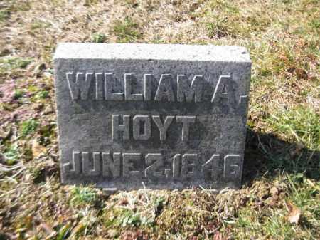 HOYT, WILLIAM A. - Warren County, New Jersey | WILLIAM A. HOYT - New Jersey Gravestone Photos