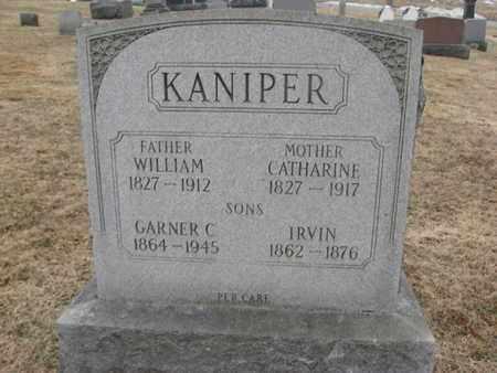 KANIPER (KNIPER), WILLIAM - Warren County, New Jersey | WILLIAM KANIPER (KNIPER) - New Jersey Gravestone Photos