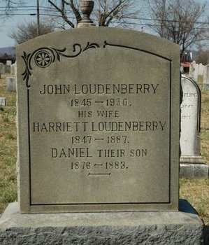 LOUDENBERRY, JOHN - Warren County, New Jersey | JOHN LOUDENBERRY - New Jersey Gravestone Photos