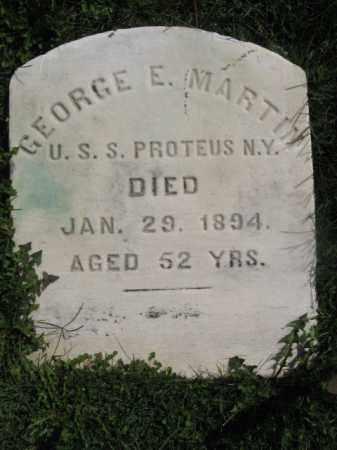 MARTIN, GEORGE E. - Warren County, New Jersey | GEORGE E. MARTIN - New Jersey Gravestone Photos