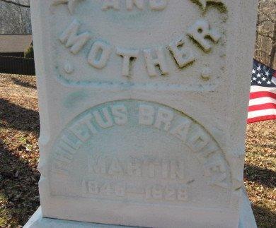 MARTIN, PHILETUS B. - Warren County, New Jersey | PHILETUS B. MARTIN - New Jersey Gravestone Photos