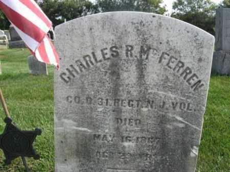 MCFERREN (MCFERN), CORP.CHARLES R. - Warren County, New Jersey | CORP.CHARLES R. MCFERREN (MCFERN) - New Jersey Gravestone Photos
