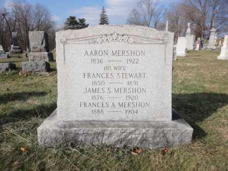 MERSHON, AARON - Warren County, New Jersey | AARON MERSHON - New Jersey Gravestone Photos