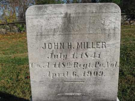 MILLER, JOHN H. - Warren County, New Jersey | JOHN H. MILLER - New Jersey Gravestone Photos