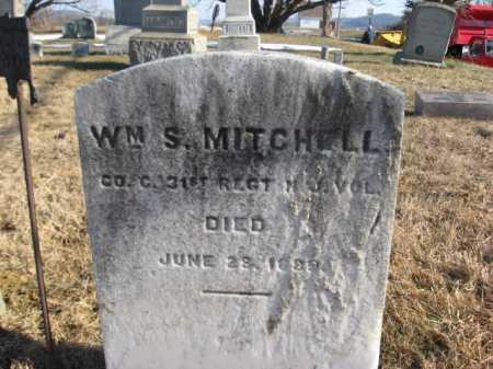 MITCHELL, WILLIAM S. - Warren County, New Jersey | WILLIAM S. MITCHELL - New Jersey Gravestone Photos