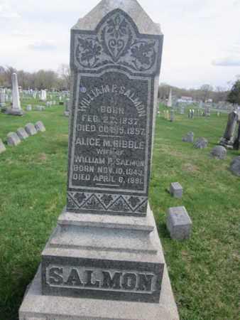 SALMON (SALMAN), WILLIAM P. - Warren County, New Jersey | WILLIAM P. SALMON (SALMAN) - New Jersey Gravestone Photos