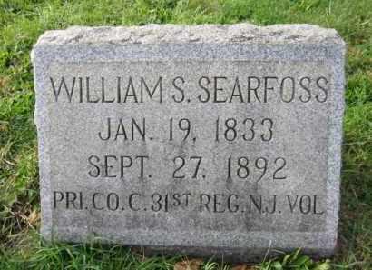 SEARFOSS, WILLIAM S. - Warren County, New Jersey | WILLIAM S. SEARFOSS - New Jersey Gravestone Photos