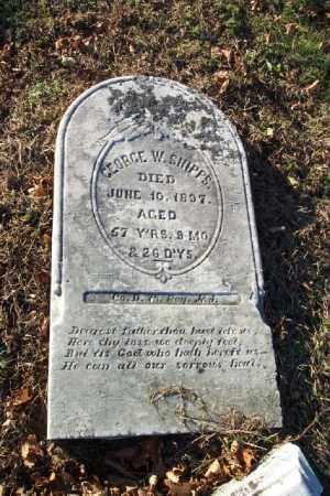 SHIPPS, GEORGE W. - Warren County, New Jersey | GEORGE W. SHIPPS - New Jersey Gravestone Photos