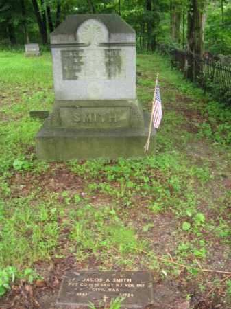 SMITH, JACOB A, - Warren County, New Jersey   JACOB A, SMITH - New Jersey Gravestone Photos