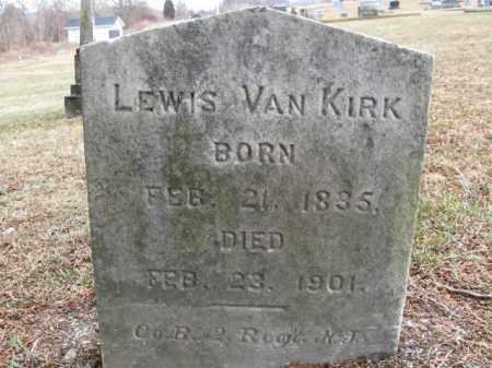 VAN KIRK, LEWIS - Warren County, New Jersey | LEWIS VAN KIRK - New Jersey Gravestone Photos