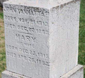 VANNATTA, JOHN - Warren County, New Jersey | JOHN VANNATTA - New Jersey Gravestone Photos