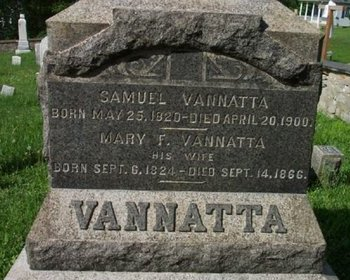 VANNATTA, SAMUEL - Warren County, New Jersey | SAMUEL VANNATTA - New Jersey Gravestone Photos