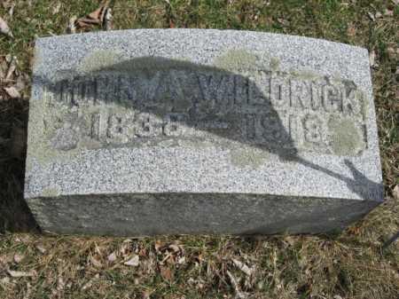 WILDRICK, JOHN ALBRIGHT - Warren County, New Jersey | JOHN ALBRIGHT WILDRICK - New Jersey Gravestone Photos