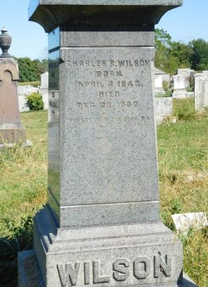 WILSON, CHARLES R. - Warren County, New Jersey | CHARLES R. WILSON - New Jersey Gravestone Photos