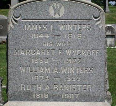 WINTERS, JAMES L. - Warren County, New Jersey | JAMES L. WINTERS - New Jersey Gravestone Photos