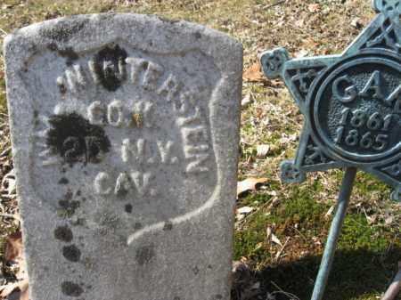 WINTERSTEIN, WILLIAM - Warren County, New Jersey | WILLIAM WINTERSTEIN - New Jersey Gravestone Photos