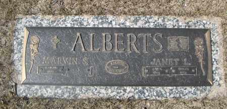 ALBERTS, MARVIN S. - Barnes County, North Dakota | MARVIN S. ALBERTS - North Dakota Gravestone Photos