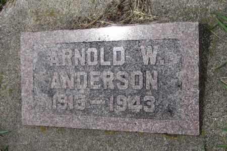 ANDERSON, ARNOLD W. - Barnes County, North Dakota | ARNOLD W. ANDERSON - North Dakota Gravestone Photos