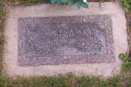 ANDERSON, EDNA M. - Barnes County, North Dakota   EDNA M. ANDERSON - North Dakota Gravestone Photos