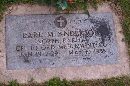 ANDERSON, EARL M. - Barnes County, North Dakota | EARL M. ANDERSON - North Dakota Gravestone Photos