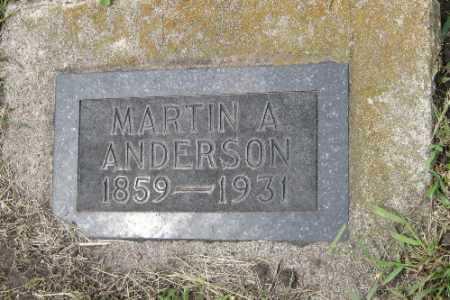 ANDERSON, MARTIN A. - Barnes County, North Dakota | MARTIN A. ANDERSON - North Dakota Gravestone Photos