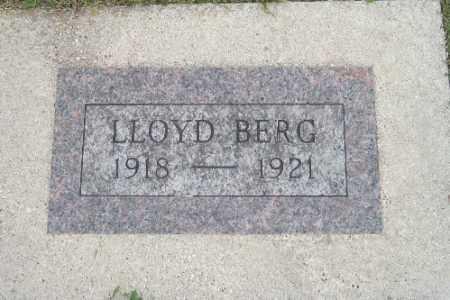 BERG, LLOYD - Barnes County, North Dakota | LLOYD BERG - North Dakota Gravestone Photos