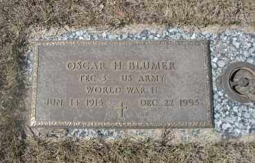 BLUMER, OSCAR H. - Barnes County, North Dakota | OSCAR H. BLUMER - North Dakota Gravestone Photos