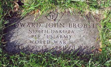 BROBST, HOWARD JOHN - Barnes County, North Dakota   HOWARD JOHN BROBST - North Dakota Gravestone Photos