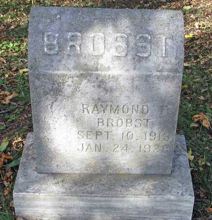 BROBST, RAYMOND - Barnes County, North Dakota   RAYMOND BROBST - North Dakota Gravestone Photos