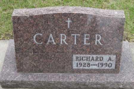 CARTER, RICHARD A. - Barnes County, North Dakota   RICHARD A. CARTER - North Dakota Gravestone Photos