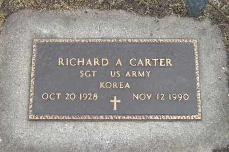 CARTER, RICHARD A. - Barnes County, North Dakota | RICHARD A. CARTER - North Dakota Gravestone Photos