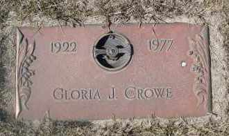 CROW, GLORIA J. - Barnes County, North Dakota | GLORIA J. CROW - North Dakota Gravestone Photos