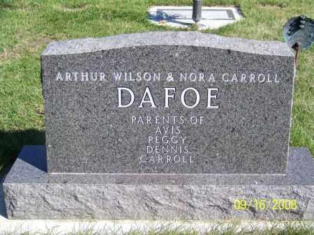 DAFOE, NORA CARROLL - Barnes County, North Dakota | NORA CARROLL DAFOE - North Dakota Gravestone Photos
