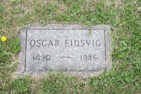 EIDSVIG, OSCAR - Barnes County, North Dakota | OSCAR EIDSVIG - North Dakota Gravestone Photos