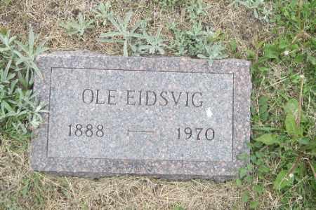 EIDSVIG, OLE - Barnes County, North Dakota | OLE EIDSVIG - North Dakota Gravestone Photos