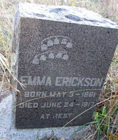 ERICKSON, EMMA - Barnes County, North Dakota | EMMA ERICKSON - North Dakota Gravestone Photos