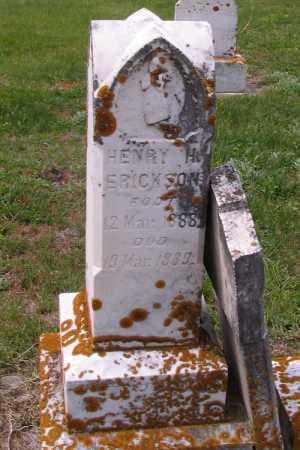 ERICKSON, HENRY H. - Barnes County, North Dakota   HENRY H. ERICKSON - North Dakota Gravestone Photos