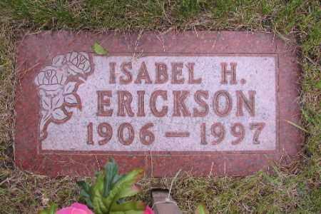 ERICKSON, ISABEL H. - Barnes County, North Dakota | ISABEL H. ERICKSON - North Dakota Gravestone Photos
