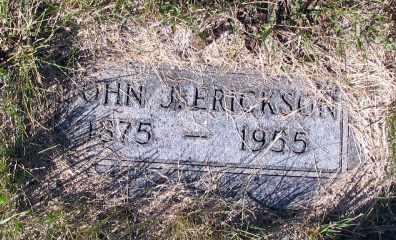 ERICKSON, JOHN - Barnes County, North Dakota | JOHN ERICKSON - North Dakota Gravestone Photos