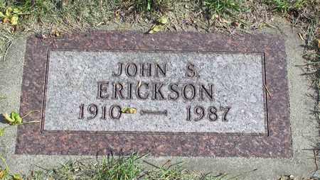 ERICKSON, JOHN S. - Barnes County, North Dakota | JOHN S. ERICKSON - North Dakota Gravestone Photos