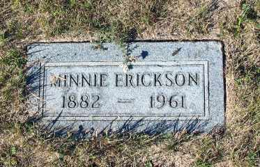 ERICKSON, MINNIE - Barnes County, North Dakota | MINNIE ERICKSON - North Dakota Gravestone Photos