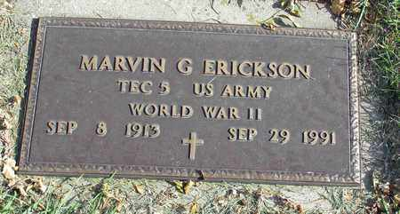 ERICKSON, MARVIN G. - Barnes County, North Dakota | MARVIN G. ERICKSON - North Dakota Gravestone Photos
